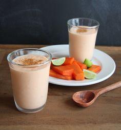 papaya lassi papaya lassi i 24 carrot life 1 c plain non fat yogurt 1 ...