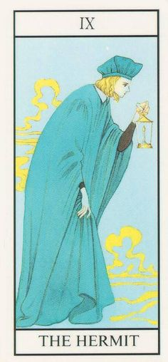 Miracle Tarot - the Hermit