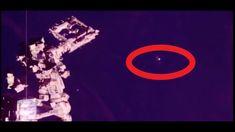 Возле МКС на опасной дистанции замечено гигантское НЛО!!!