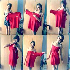 DIY T-Shirt Fashion...... if it really looks that cute then holy wow that awesome