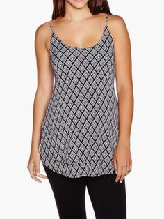 Maternity Crepe Knit Tank Top by #ThymeMaternity :: #MaternityTop #MaternityFashion #MaternityStyle