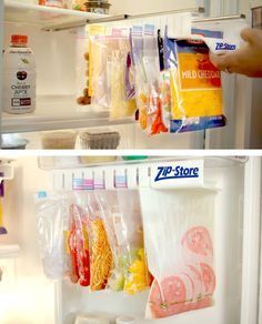 If you haven't already, it's time to start organizing your life... in the kitchen. Check it out==> | Zip n Store… Food Storage, Simple and Easy! | http://gwyl.io/zip-n-store-food-storage-simple-easy/