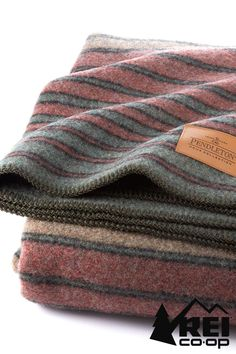 A blanket begging to be taken anywhere and everywhere with timeless versatility; use it as décor in a dorm room, throw it in the back of the truck, or cuddle up with it by the campfire. It also makes for a cozy gift. Shop for holiday gifts now at www.rei.com.