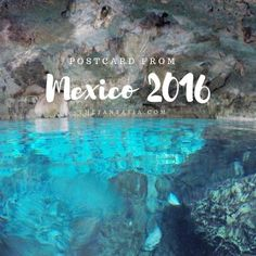 Mexico is the perfect winter destination! Beaches, sun, cenotes, cave-swimming, and amazing foods like guacs! Travel Around The World, Around The Worlds, Cancun Mexico, Photo Diary, Winter Travel, Travel Photos, Beaches, Cave, Fun Stuff
