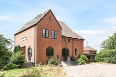 Here's one for all the Scandinavian obsessed, ourselves included: this charming converted train station in southern Sweden is for sale.