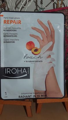Unohdetut kädet Hand Mask, Iroha, Facial, Gloves, Personal Care, Facial Treatment, Self Care, Facial Care, Personal Hygiene