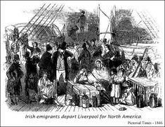 "The typhus epidemic of 1847 was an outbreak of epidemic typhus caused by a massive Irish emigration in 1847, during the Great Famine, aboard crowded and disease-ridden ""coffin ships"". In Canada, more than 20 000 people died from 1847 to 1848, with many quarantined in fever sheds in Grosse Isle, Montreal, Kingston, Ontario, Toronto and St. John, New Brunswick ."