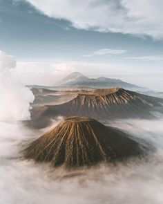 Sunrise above the clouds in the Tengger Massif of Bromo Tengger Semeru National Park. East Java Indonesia. [2992x3740][OC][IG@ahpflaum]