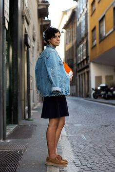 On the Street….via Bagutta, Milan - The Sartorialist. I want those shoes!! Need to know who made them.