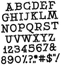 Buy Otto's Tucan Font To Go Full And Deep Black With Ink