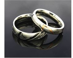Lovers Connecting Hearts Rings. Starting at $22