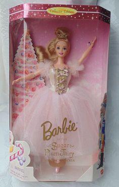 Barbie Doll Sugar Plum Fairy Nutcracker Classic Ballet Series Collector Edition 1996 mib nrfb mint Model 17056 Original Box Accessories by mondaynightauctions on Etsy