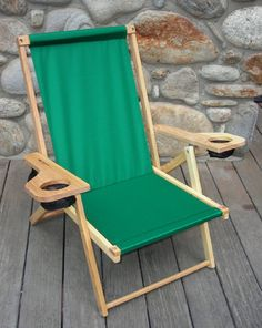 Blue Ridge Chair Works Outer Banks Chair, Made in USA