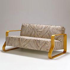 Sofa 544 designed by Alvar Aalto for Artek, 1931-32