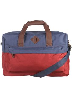 RED AND NAVY HOLDALL - Topman  Price:£38.00