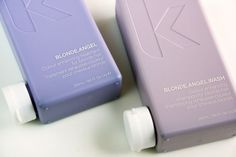 NEW! Kevin Murphy Blonde Angel Wash and Rinse is perfect for maintaining your vibrant blonde locks...learn more here! #hair #hairproduct #kevinmurphy #salon #hair #kelowna