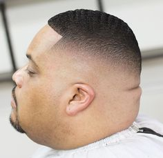 Check out these 12 modern ways to wear the buzz haircut. Add a fade, texture or shaved lines to create your own unique look. Black Men Haircuts, Cool Mens Haircuts, Black Men Hairstyles, Cool Hairstyles For Men, Hairstyles Haircuts, Short Haircut Styles, Best Short Haircuts, High Fade, Short Hair With Beard