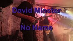 Strongly inspired by his brother-in-law 🅲🅰🅻🆅🅸🅽 🆁🆄🆂🆂🅴🅻🅻, David Minster makes the most of it and offers us Rock and Blues to the rhythms of the American Far We. No Name, Blues, David, Music, Musica, Musik, Muziek, Music Activities
