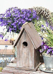 Sivs hus: Nostalgisk fuglehus