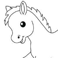 Animaux coloriage animaux en ligne gratuit a imprimer sur coloriage tv tap pinterest - Coloriage petit poney ...