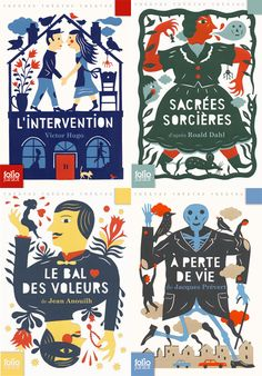 Laurent Moreau - Couvertures Folio junior