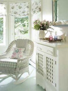 Cottage Style Decor, Cottage Design, Shabby Chic Cottage, Shabby Chic Homes, Shabby Chic Style, Shabby Chic Decor, Cottage Ideas, Romantic Cottage, Rose Cottage