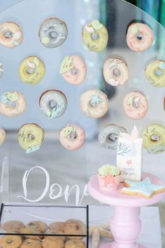 Take a look at this gorgeous under the sea birthday party! The donuts are so pretty! See more party ideas and share yours at CatchMyParty.com #catchmyparty #partyideas #donutparty #donuts #undertheseaparty #mermaids #mermaidparty #girlbirthdayparty #undertheseadonuts #mermaiddonuts Girl Birthday, Birthday Parties, Sea Cakes, Mermaid Cakes, Donut Party, Sea Photo, Mermaid Parties, Under The Sea Party, Donuts