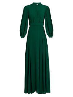 Armonia silk-georgette dress | Raquel Diniz | MATCHESFASHION.COM US