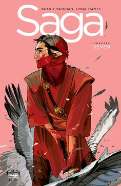 Saga #7. Cover by Fiona Staples. The best series of 2012.