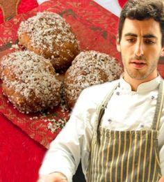 Υπέροχα μελομακάρονα με μανταρίνι Greek Sweets, Greek Desserts, Greek Recipes, Greek Christmas, Christmas Sweets, Christmas Recipes, Greek Cookies, Cupcake Cookies, Cupcakes