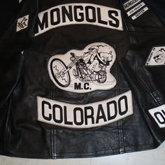 The Mongols Motorcycle Club was established on December 1969 in the East Los Angeles area in the city of Montebello, California. Mother Chapter was formed with the first fifteen members. Biker Clubs, Motorcycle Clubs, Motorcycle Jacket, Outlaws Motorcycle Club, Bike Gang, Biker Patches, Biker Leather, Vintage Bikes, Harley Davidson