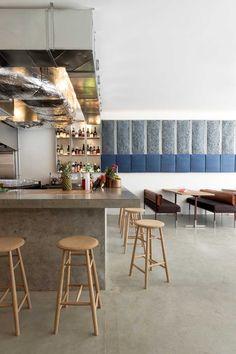 Torafuku Modern Asian Eatery by Scott & Scott Architects.