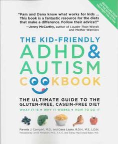 The Kid-Friendly ADHD & Autism Cookbook:  The recipes were ok, but the first 100 pages about how foods affect kids with ADHD and Autism makes it worth the money!