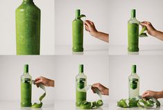 Smirnoff Unwraps New Packaging | the texture of the skin mimics the flavor of the drink: lime, strawberry, passion fruit and by incorporating a perforated sleeve, opening the bottle becomes an interactive user experience - as if you were peeling the lime yourself.