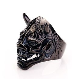 Fashion Stainless Steel Silver Punk skull Biker Finger Ring Mens Size 8-12 in Jewelry & Watches, Men's Jewelry, Rings   eBay