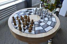 Byzantine Chainmail Chess Set by FireStarterStudios on Etsy, $10000.00