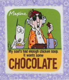 Maxine on 'Chicken Soup for the Soul' books