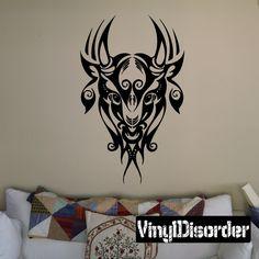 Fantasy Zodiac Wall Decal - Vinyl Decal - Car Decal - DC 8010