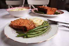 Vegetariánska sekaná z červenej šošovice a tofu