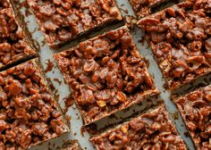 "Love this recipe? PIN IT to your DESSERT BOARD to save it! Follow BAREFEET IN THE KITCHEN on Pinterest for more great recipes! Chocolate + Peanut Butter + plenty of crunch = pure happiness in a homemade ""candy bar"" that you make in about 5 minutes! I am so excited to share these bars with you today and I'm moreRead More"
