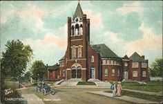 First Baptist Church, Charlottesville, Virginia from University of Virginia Visual History Collection ·  ·  · Albert and Shirley Small Special Collections Library, University of Virginia.