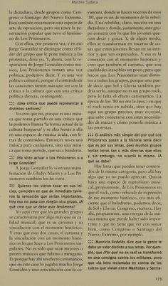 Maldito Sudaca page 3 ?? Rockers, Singers