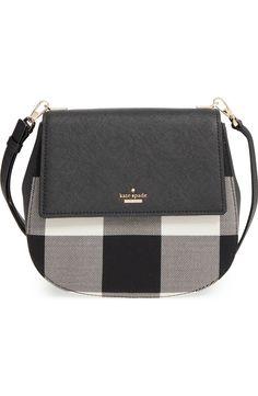 'cameron street plaid - byrdie' crossbody bag