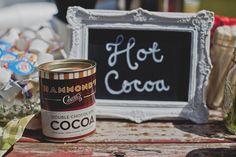 Double the Yum!  Hammond's Double Chocolate Hot Cocoa as seen on WeddingChicks.com