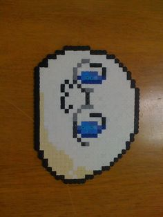 Mochi-America from Hetalia Pearler Beads, Fuse Beads, Hetalia, Pixel Art Templates, Beaded Cross, Cosplay Diy, Mochi, Beading Patterns, Projects To Try
