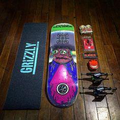 Bells Beach  Da uma ligada nesse kit  - Lixa Grizzly - Shape Toy Machine p2 (billy marks) - Roda Spitfire - Parafuso Element - Truck Thunder Titanium - Vela Spitfire #skatelife #skateboarding #setup #grizzlygang #skate #supportyourlocalskateshop #sp #bellsbeachsp #bellsbeach #skateshop #kit by bellsbeach_11 http://ift.tt/1KnoFsa