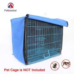 Compare Price Dog Cage Cover Foldable Anti-mosquito Tent Waterproof Oxford Pet Crate Cover for Wire Crate Dog Kennel Cage Blanket Without Cage Small Dog Breeds, Small Dogs, Cheap Dog Cages, Cheap Crates, Wire Crate, Crate Cover, Anti Mosquito