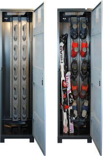 Garage Storage, Locker Storage, Ski Store, Sports Locker, Home Organization, Lockers, Skiing, Home Appliances, Deco
