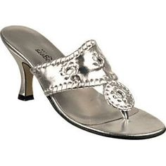 Click on the image for more details! - Jack Rogers Navajo Dressy Silver (Apparel)