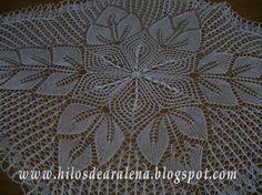 Hilos de Aralena Blanket, Rugs, Crochet, Home Decor, Lace, Oval Table, Centerpieces, Mesas, Dots